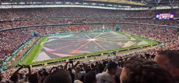 Wembley Stadium, secção: 529, fila: 8, lugar: 69