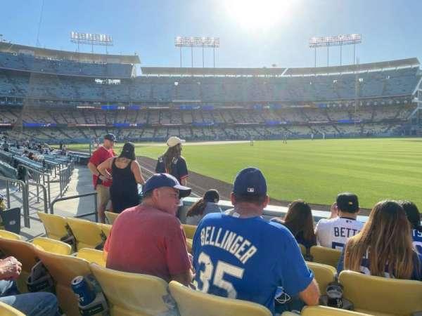 Dodger Stadium, secção: 48FD, fila: D, lugar: 7