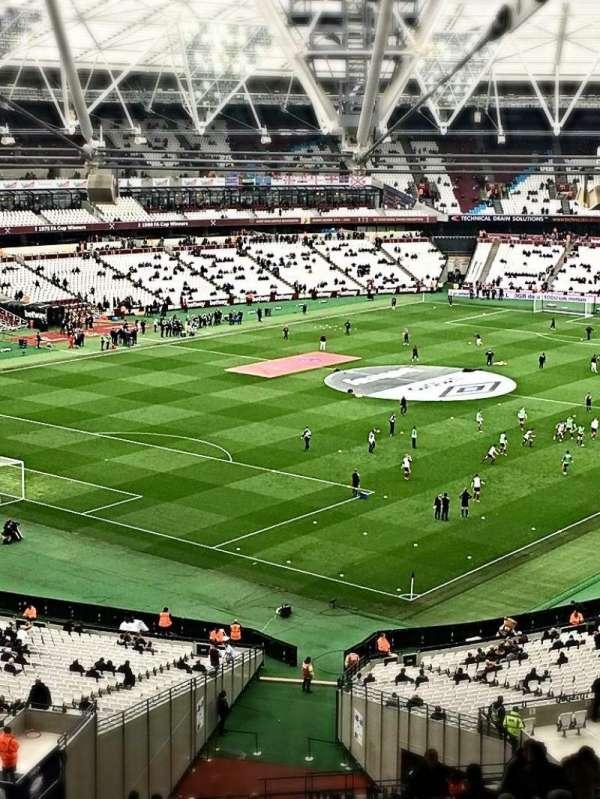 London Stadium, secção: 228, fila: 66