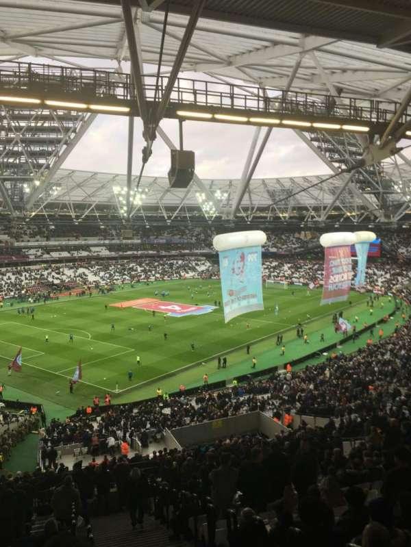 London Stadium, secção: 229, fila: 61