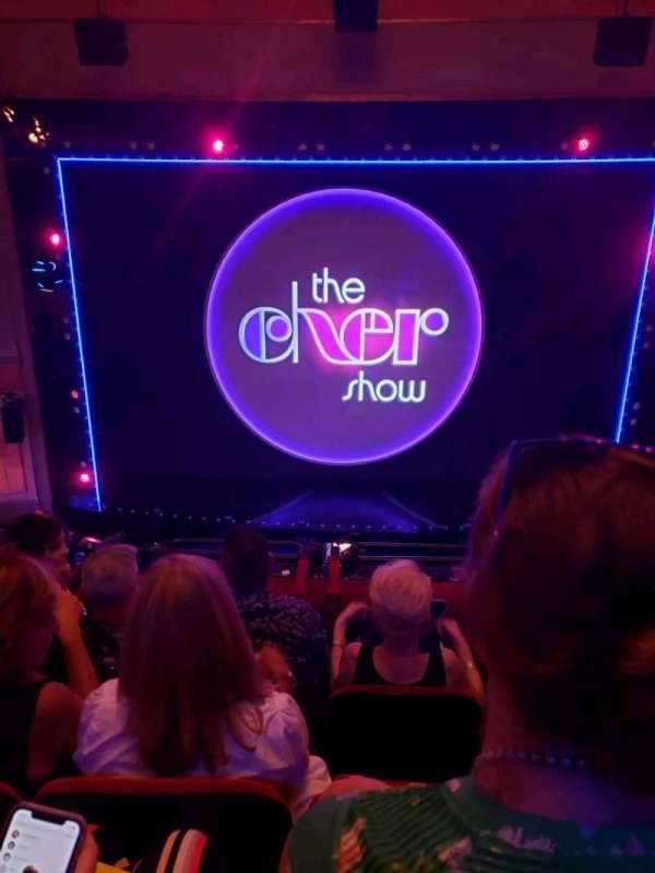 Neil Simon Theatre, secção: Front Mezzanine C, fila: D, lugar: 113