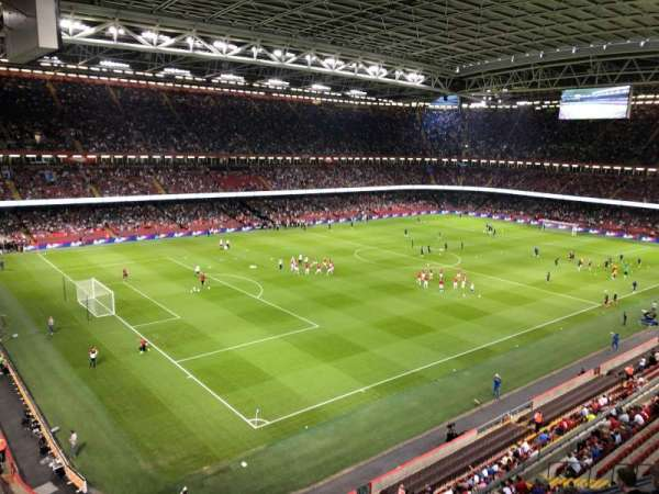 Principality Stadium, secção: U36