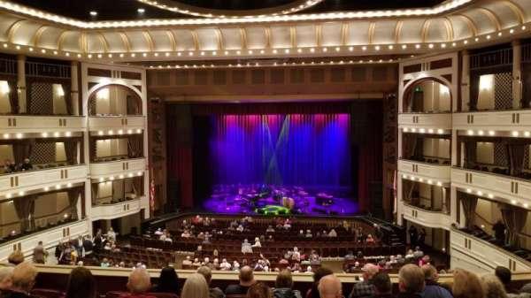 Mahaffey Theatre, secção: Balcony C, fila: 2, lugar: 1
