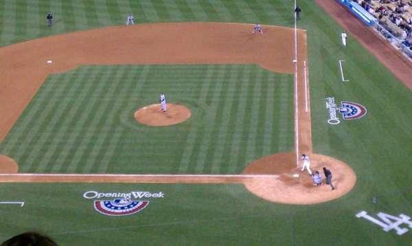 Dodger Stadium, secção: 11, fila: 9, lugar: 3