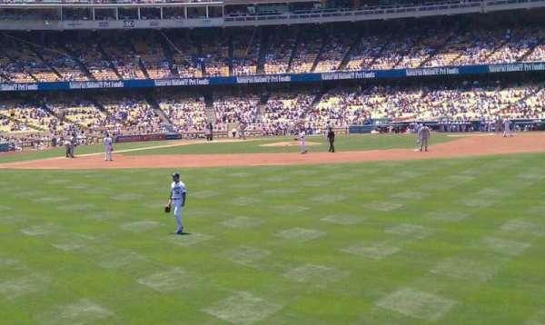 Dodger Stadium, secção: 308PL, fila: b, lugar: 16-13