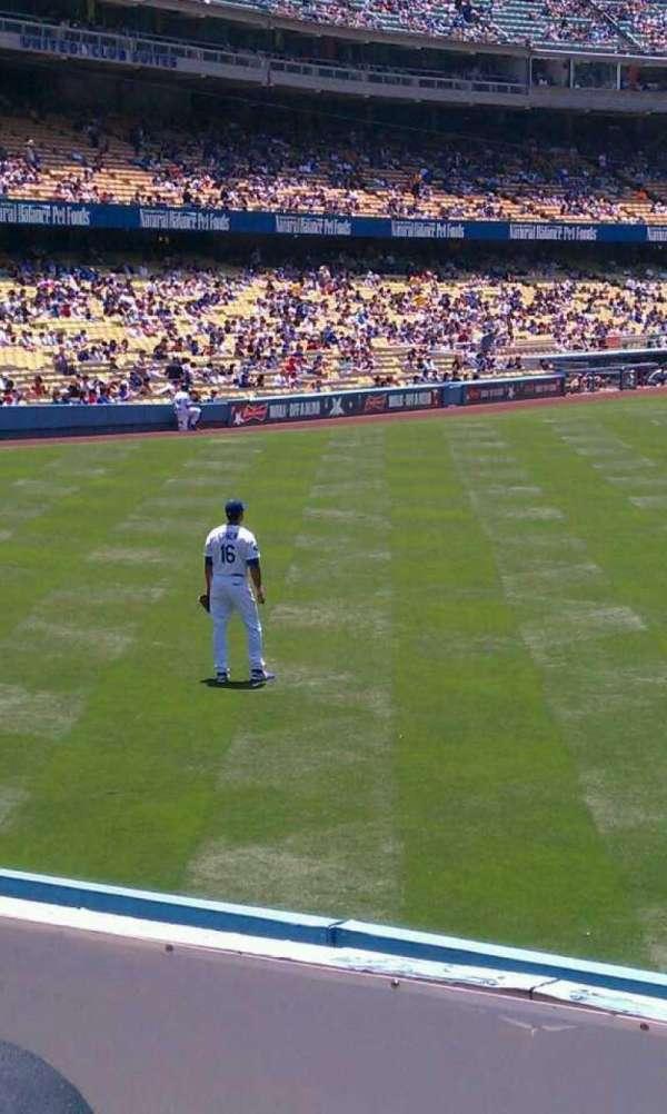 Dodger Stadium, secção: 308PL, fila: b, lugar: 16