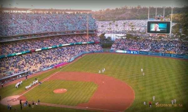 Dodger Stadium, secção: 18RS, fila: AA