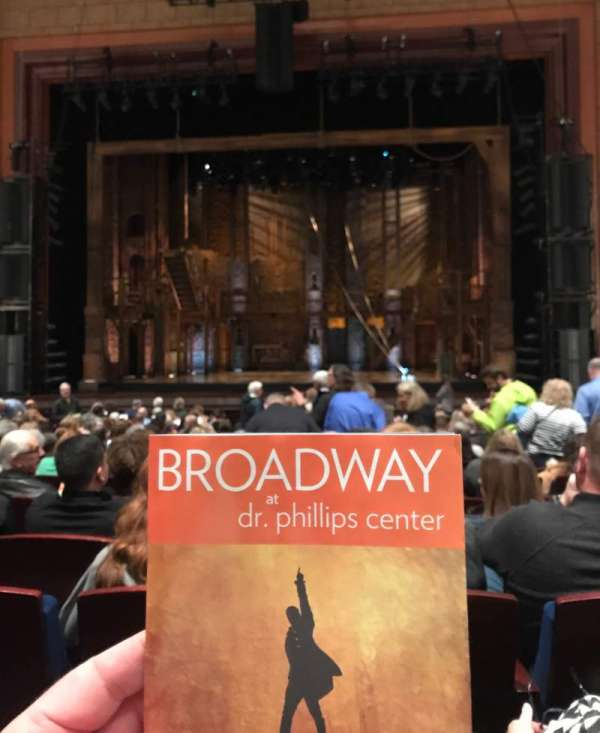 Walt Disney Theatre - Dr. Phillips Center, secção: Lower Orchestra C, fila: P, lugar: 115