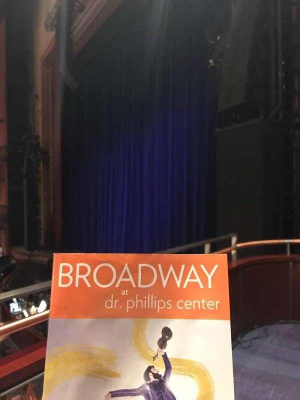 Walt Disney Theatre - Dr. Phillips Center, secção: Box, fila: Box 2, lugar: 2
