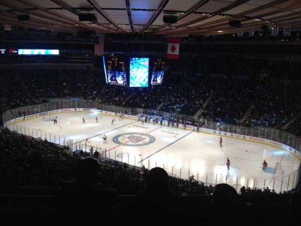 Madison Square Garden, secção: 402, fila: C, lugar: 2