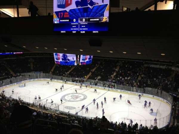 Madison Square Garden, secção: 227, fila: 17, lugar: 2