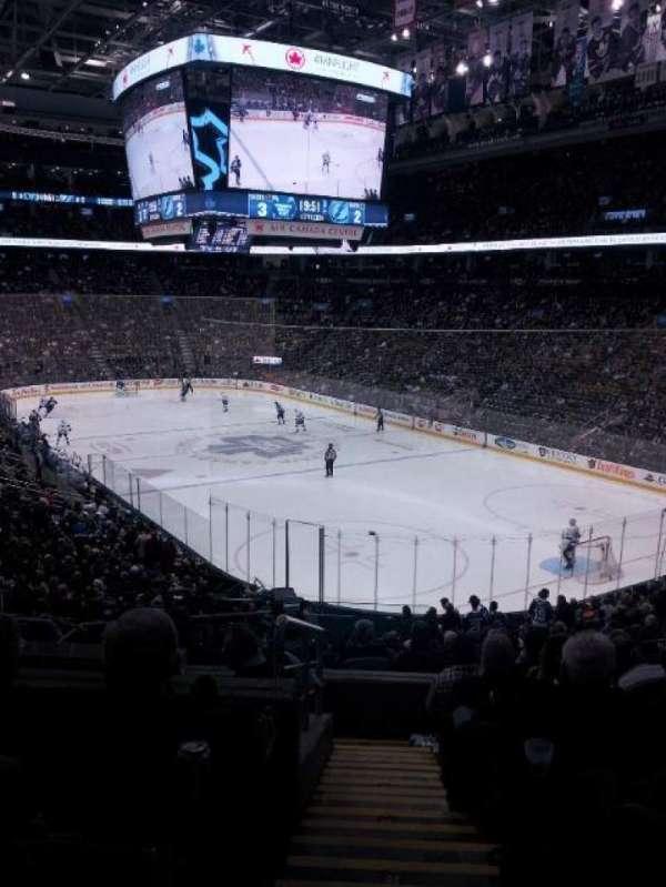 Scotiabank Arena, secção: 115, fila: 28, lugar: 21