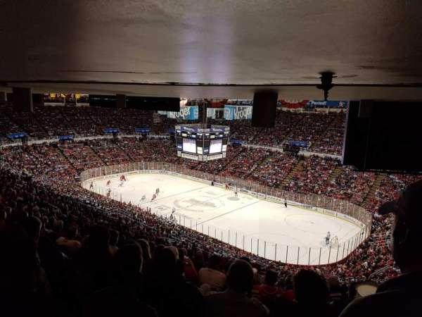 Joe Louis Arena, secção: 218A, fila: 27, lugar: 1