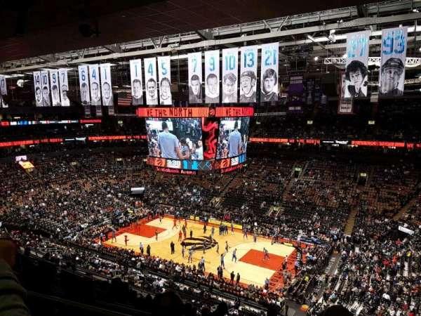 Scotiabank Arena, secção: 307, fila: 11, lugar: 14