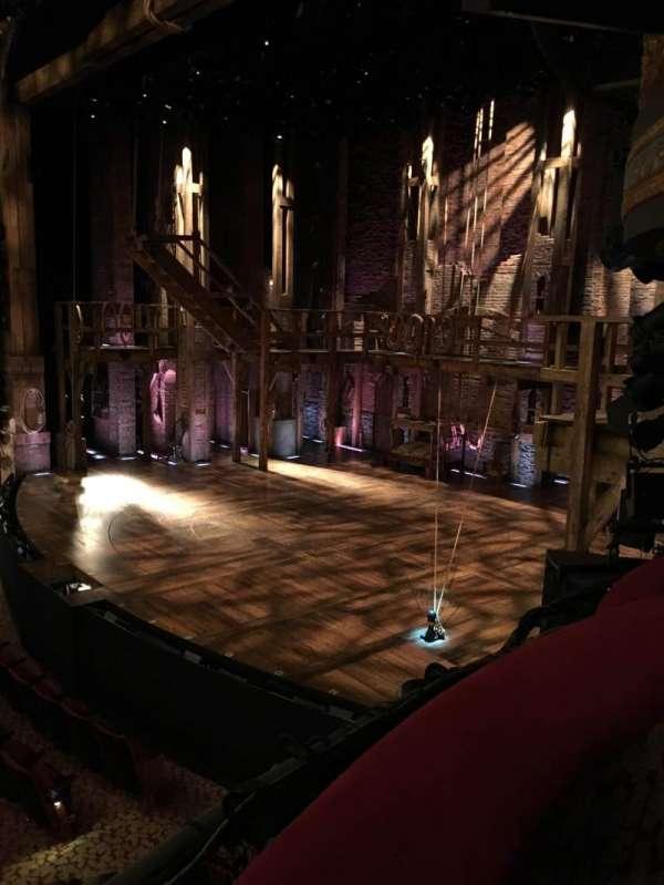 Richard Rodgers Theatre, secção: Box D, lugar: 3