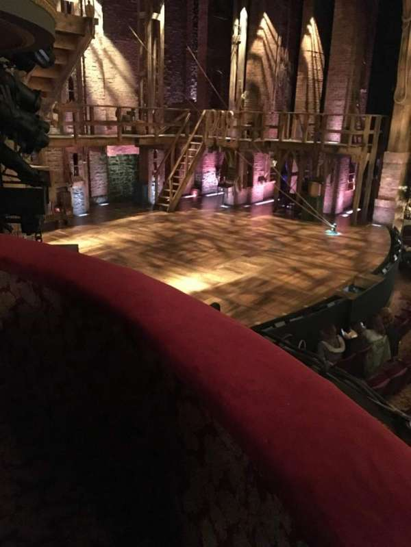 Richard Rodgers Theatre, secção: Box B, lugar: 3