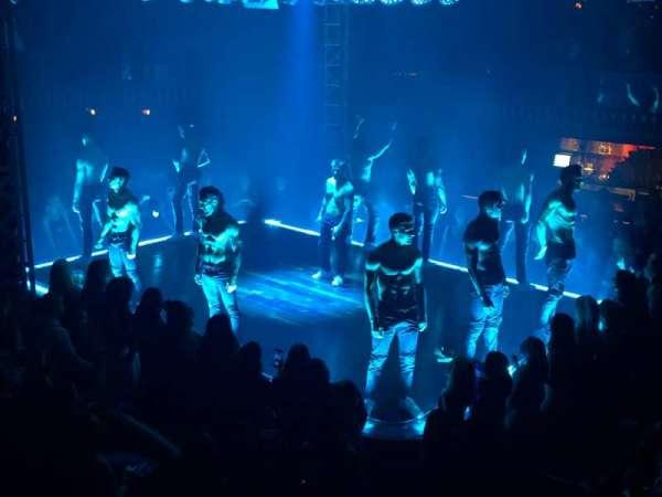 Club Domina at Hard Rock Las Vegas, secção: 506, fila: 1, lugar: 1