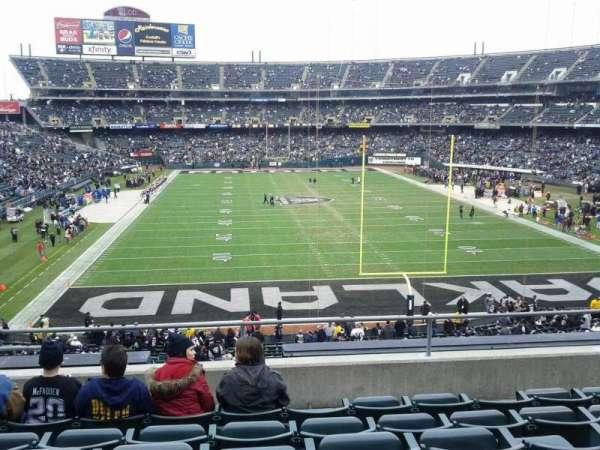 Oakland Coliseum, secção: 229, fila: 6, lugar: 18