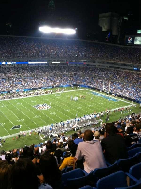 Bank of America Stadium, secção: 544