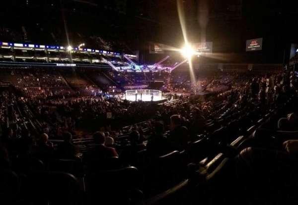 The O2 Arena, secção: 110, fila: S, lugar: 278