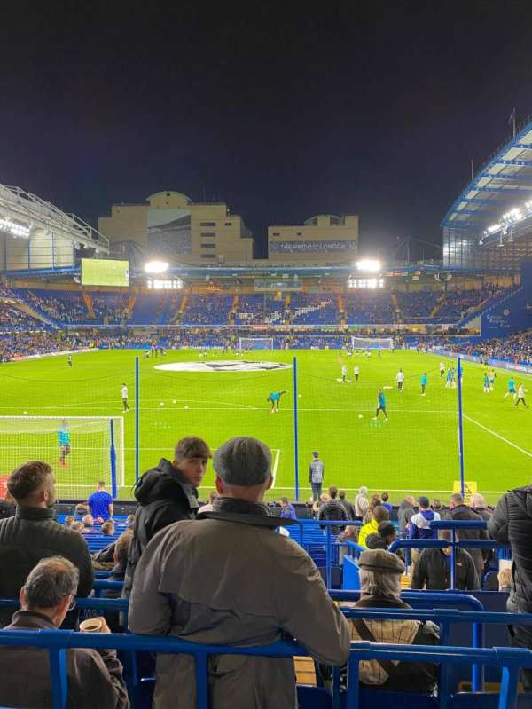 Stamford Bridge, secção: Matthew Harding lower 12, fila: X, lugar: 59