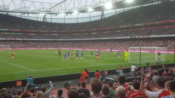 Emirates Stadium, secção: 26, fila: 11, lugar: 821