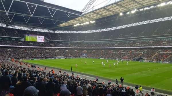 Wembley Stadium, secção: 116, fila: 42, lugar: 123