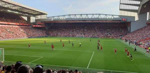 Anfield, secção: 123, fila: 22, lugar: 56