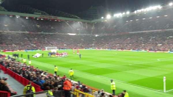 Old Trafford, secção: E30, fila: 1, lugar: 58