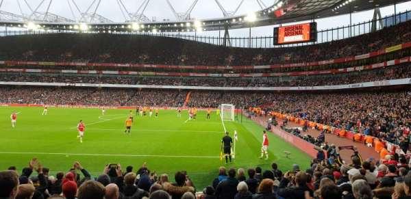 Emirates Stadium, secção: 29, fila: 15, lugar: 918