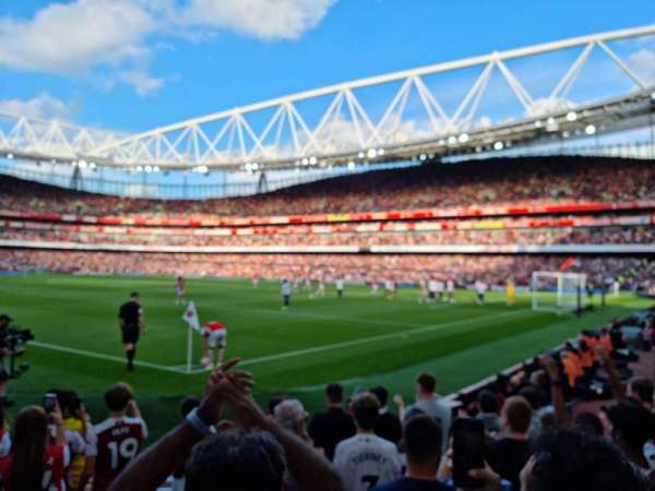Emirates Stadium, secção: 28, fila: 8, lugar: 866