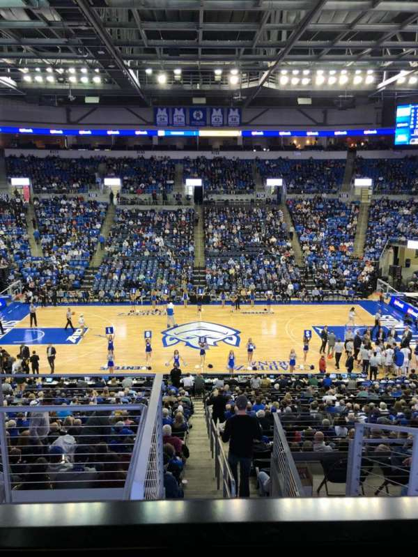 Chaifetz Arena, secção: 214, fila: D, lugar: 17