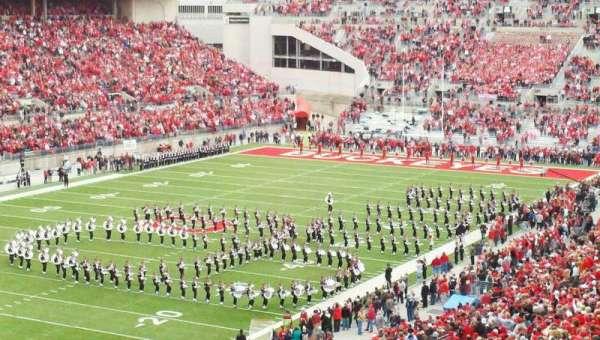 Ohio Stadium, secção: 7B, fila: 7, lugar: 30
