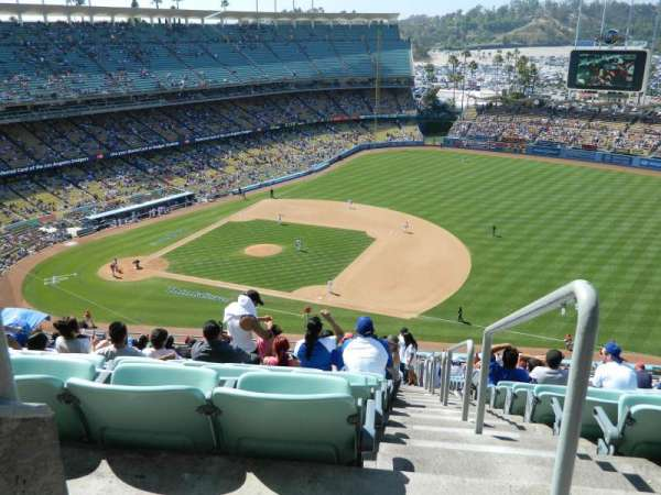 Dodger Stadium, secção: 24RS