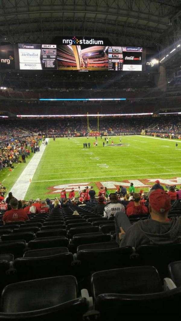 NRG Stadium, secção: 138, fila: x, lugar: 15