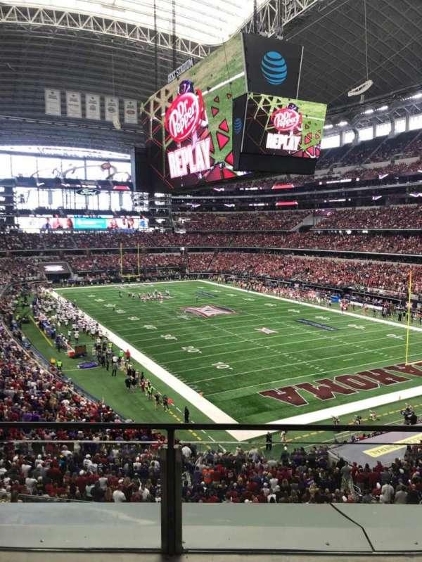 AT&T Stadium, secção: 327, fila: 2, lugar: 32