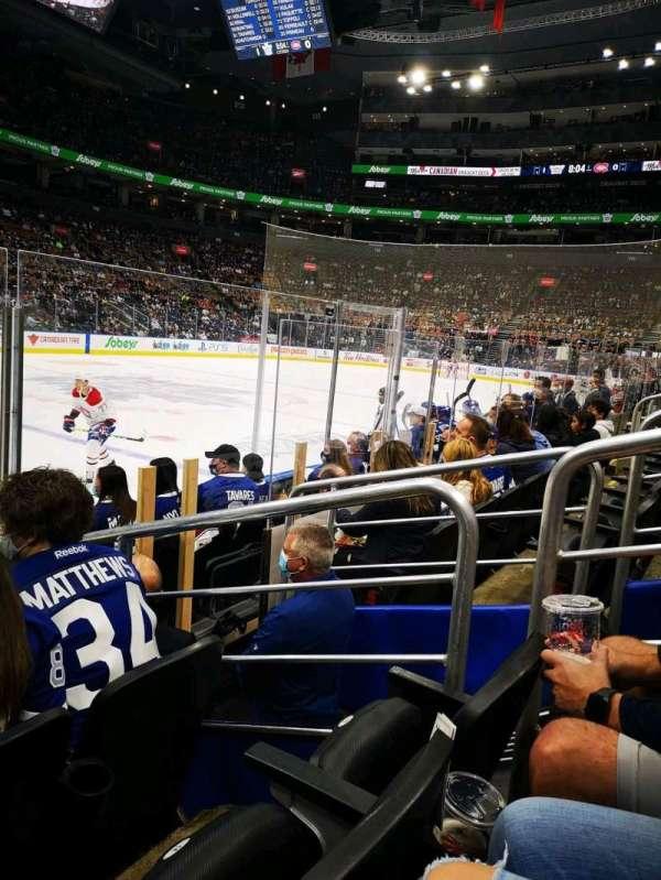 Scotiabank Arena, secção: 120, fila: 5, lugar: 16