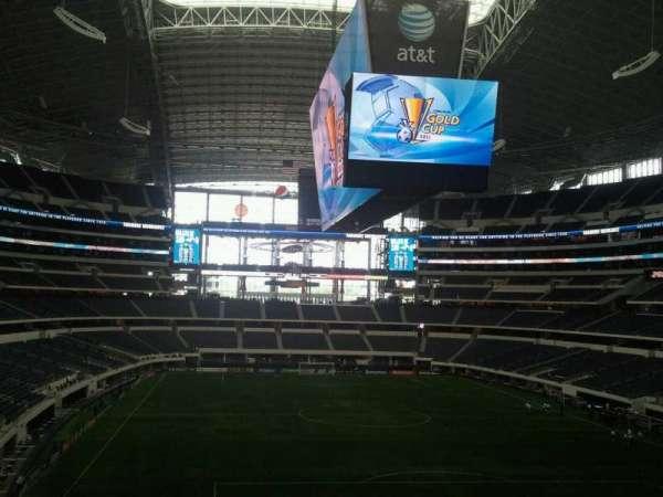 AT&T Stadium, secção: 249, fila: 15, lugar: 20