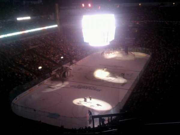 Bridgestone Arena, secção: 303, fila: G, lugar: 1