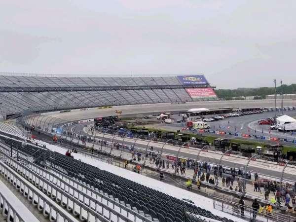 Dover International Speedway, secção: 250, fila: 43, lugar: 32