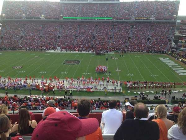 Williams-Brice Stadium, secção: 506, fila: 7 , lugar: 14