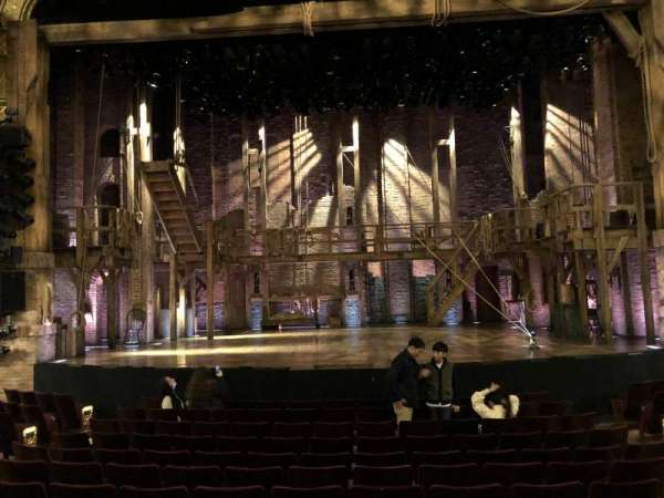 Richard Rodgers Theatre, secção: Orchestra C, fila: L, lugar: 106