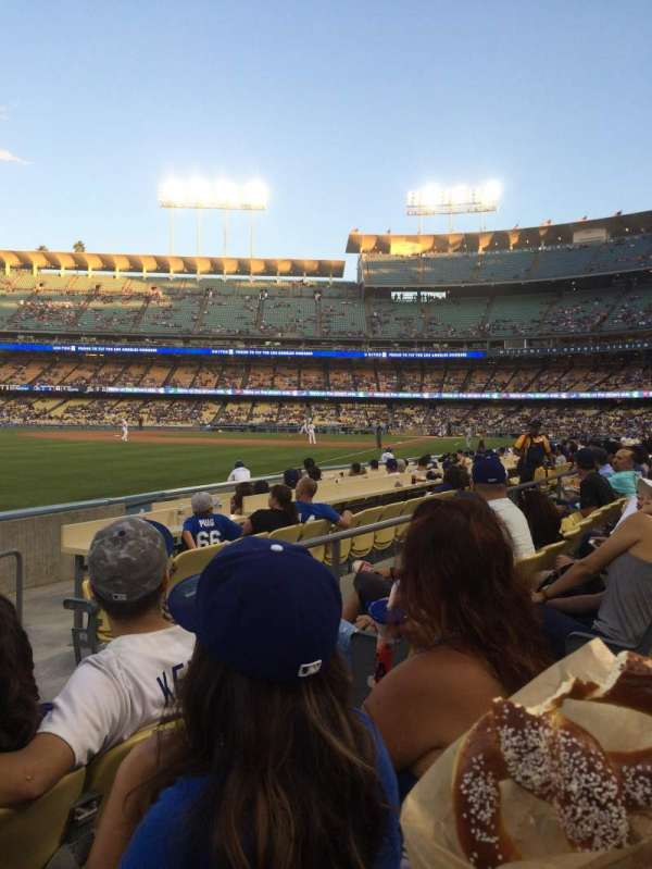 Dodger Stadium, secção: 47FD, fila: C, lugar: 4