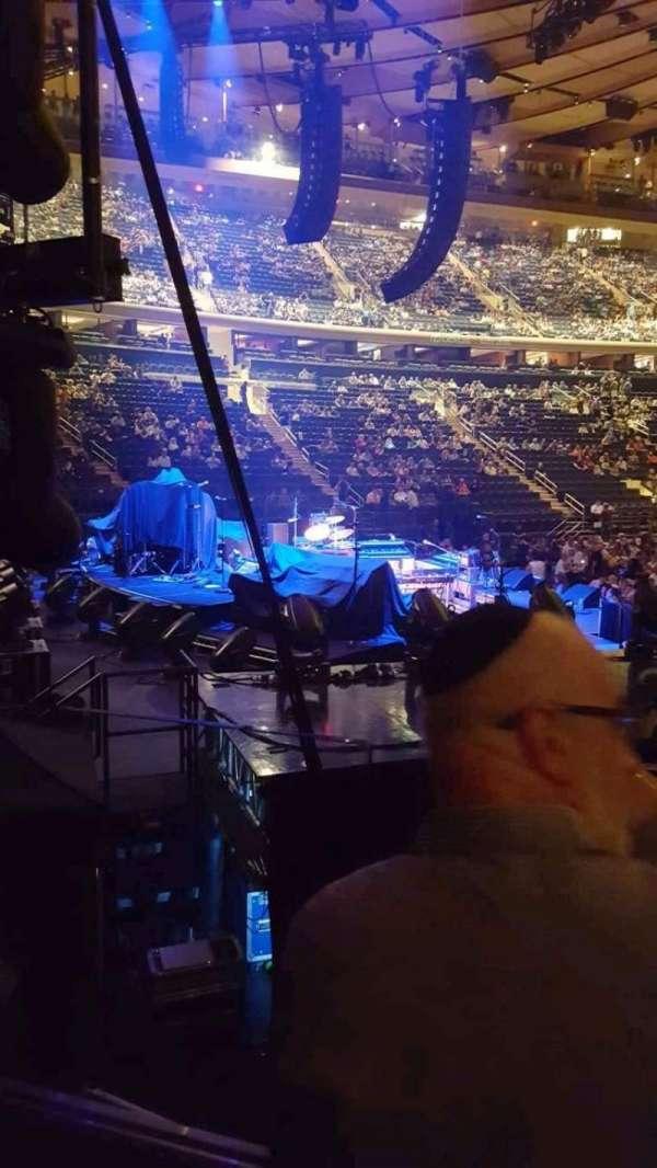 Madison Square Garden, secção: 114, fila: 7, lugar: 10