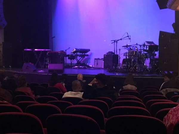 Apollo Theatre, secção: Orchestra, fila: K, lugar: 19