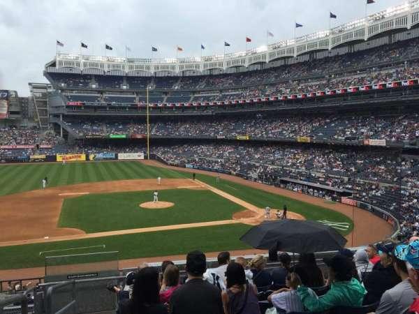 Yankee Stadium, secção: 224, fila: 8, lugar: 20