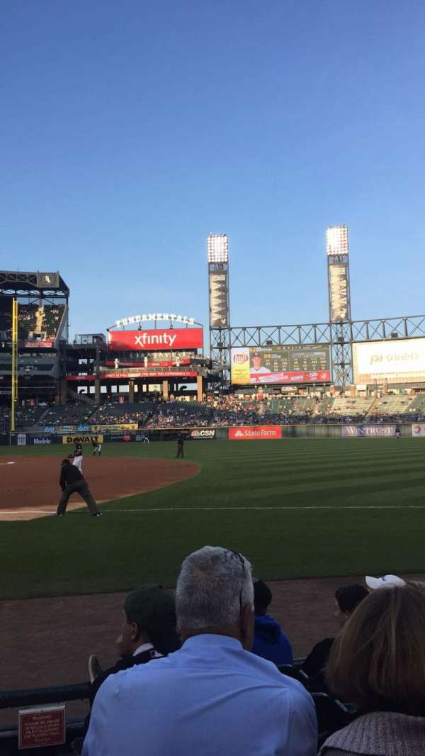 Guaranteed Rate Field, secção: 120, fila: 6, lugar: 8