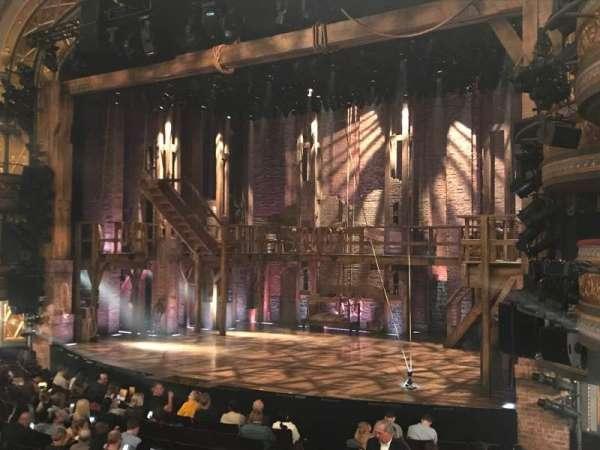 Richard Rodgers Theatre, secção: Orchestra R, fila: P, lugar: 28