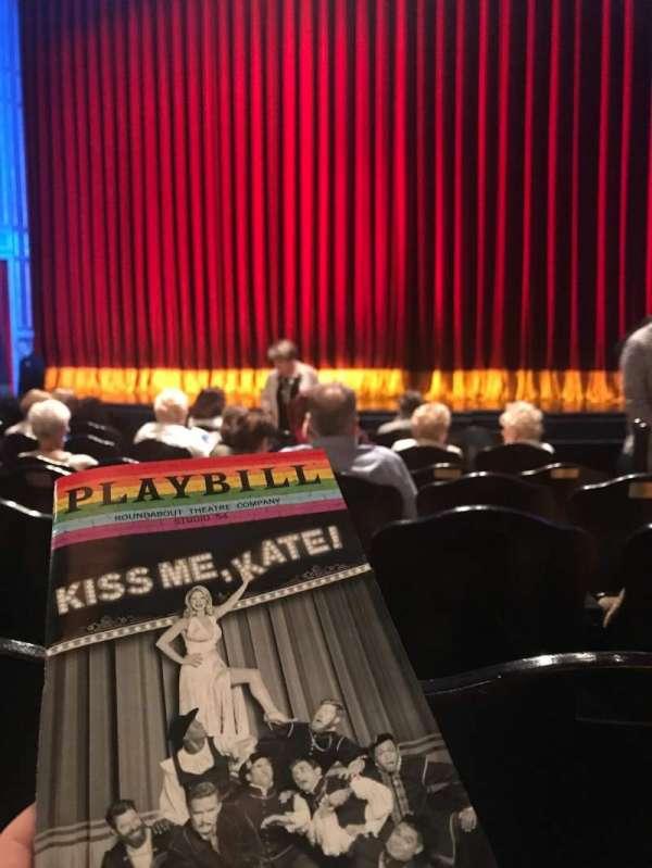 Studio 54, secção: Orchestra C, fila: G, lugar: 101