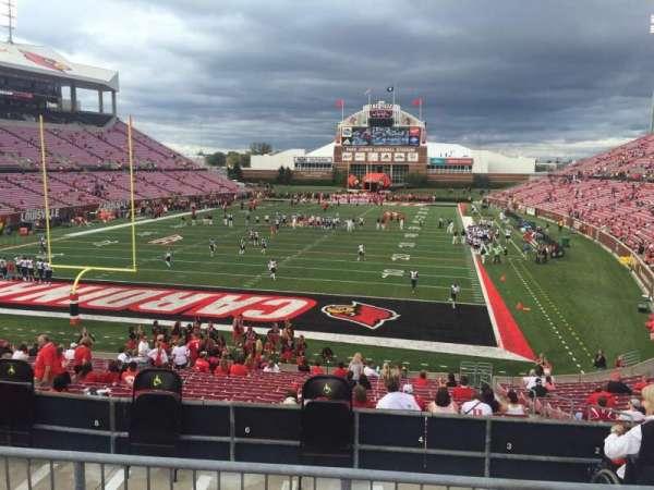 Cardinal Stadium, secção: 217, fila: HF, lugar: 6